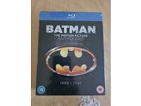 Batman Anthology - Blue ray DVD- New sealed (Part 1 -4)
