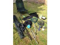 Carp fishing set