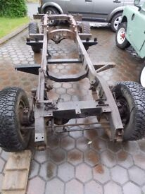 Landrover Series 3 109 Rolling Chassis