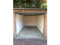 Lock-up garage available for rent in Purley (CR8 4DY) suitable for vehicle or storage.