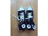 NEW Converse All Star Unisex Black - never worn