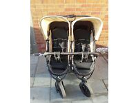 hauck roadster duo, double buggy/pushchair