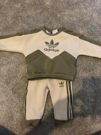 Adidas tracksuit 6-9 months