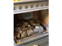 Coal effect Gas cast iron burner/stove