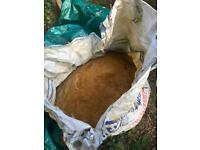 Free Building sand. (Ballast) Jumbo Bag