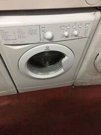 nice white indesit washing machine it's 6kg 1000 spin in excellent condition in full working order