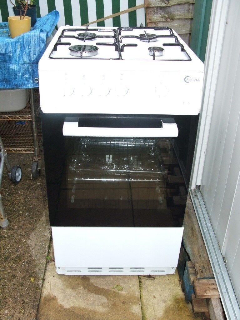 Flavel FSBG51W 50 cm Gas Cooker.