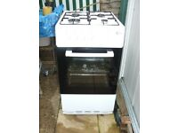 Flavel FSBG51W 50 cm Gas Cooker.