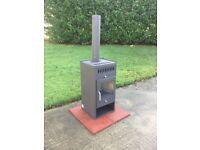 8kw multi fuel wood burner brand new