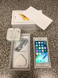 Apple iPhone 6s 64GB Gold (Unlocked) Boxed with All Accessories (new condition) NO OFFERS!!
