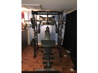 NordicTrack home weights bench
