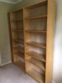 2 Billy Ikea bookcases
