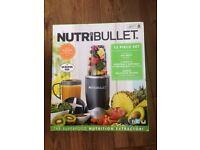 Brand new Nutribullet 600W Blender 12 Piece Set
