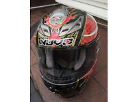 NUVO Dragon Design Helmet XXXL & Gloves