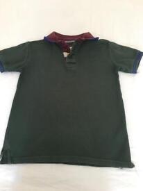 Jasper J Conrad dark green shirt
