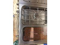 Range cooker and hood