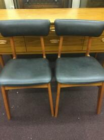 Schreiber chairs mid century vintage furniture