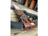 ARIA SINSONIDO TRAVEL BASS GUITAR MADE IN USA