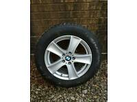Bmw x5 winter wheels and tyres almost new