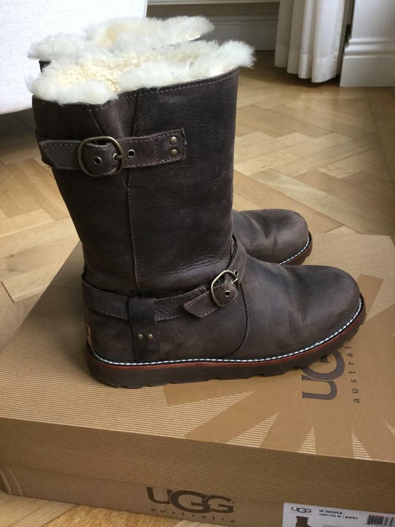 a5862c78cdf GENIUNE UGG 'NOIRA' BOOTS, As New RRP £235.00 | in Surbiton, London |  Gumtree