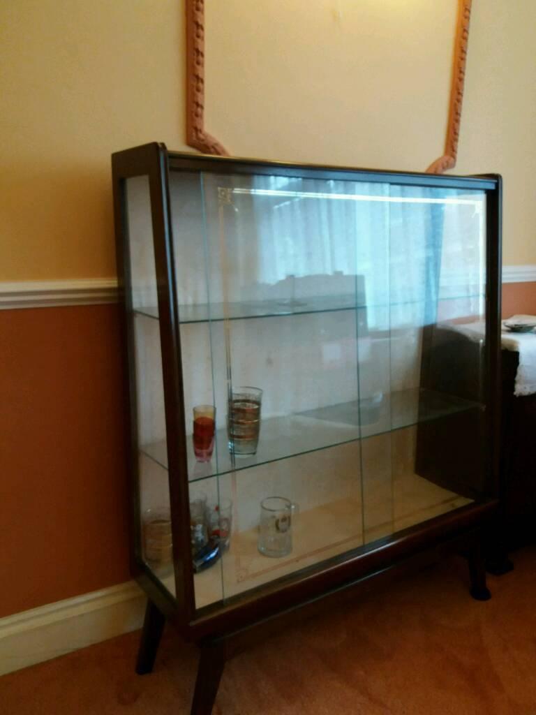 Vintage drink/glasses cabinet
