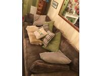 Beautiful 4 and 3 seater sofas
