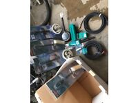 Box of BOSCH PRESSURE WASHER brushes hoses parts NEW