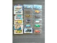 18 Model cars