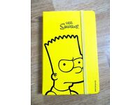 Limited Edition Simpsons Moleskine Notebook