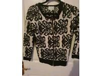 Jovonna sweater black & white