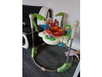 Hi im selling a jumperoo as my wee girl is too big for it now