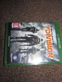 """""""The Division"""" game for xbox one"""