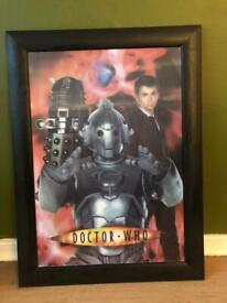 Doctor Who Holographic Framed Picture