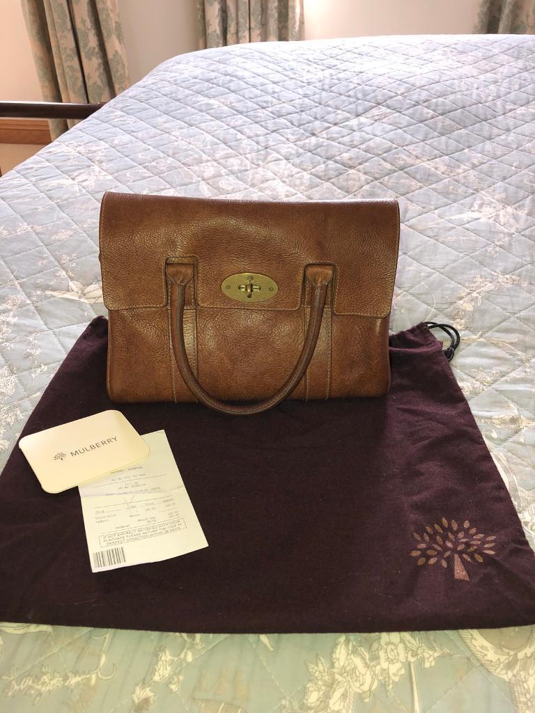 d69e21ed22 Mulberry Ledbury Bag In Oak Darwin Leather - Small Bayswater