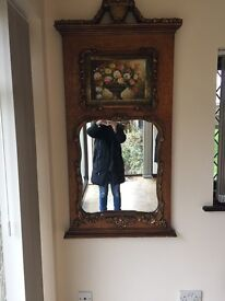 Ornate French Style Wall Mirror