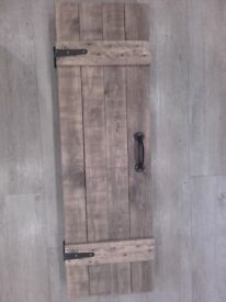 Rustic Trunk Style Kitchen/Bathroom Cupboard (2)