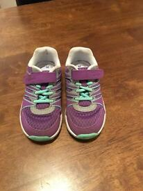 Clarks Girls Trainers Size 7.5F