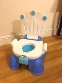 (SOLD)Used fisherprice Baby potty with sound toilet