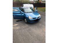 Renault Clio 1.2 5 door full mot (cheap car)