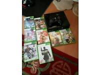 Xbox 360 and game bundle