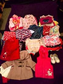 Girls clothes 12 - 24 months