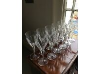 Villeroy and Boch crystal wine glasses. 12 glasses in near perfect condition.