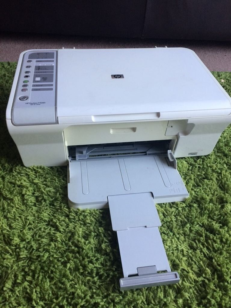 Problem printing with our hp deskjet f4280 all-in one hp support.