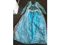 Girls age 9-10 Frozen elsa dress
