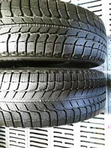 P215/65R16 X2 MICHELIN X-ICE2 USED ALMOST BRAND NEW WINTER TIRES FOR SALE