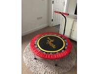 Boogie bounce xtreme fitness trampoline
