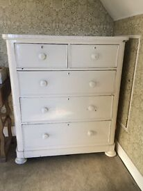 Large Cream Chest of Drawers £50 obo
