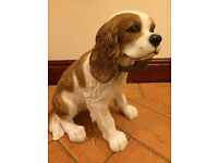 Leonardo Collection - large Cavalier King Charles Spaniel Ornament / Figure
