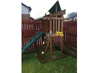 Plum lookout wooden playhouse with slide ** fully dismantled**