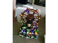 Brand new big wheel Christmas table decoration